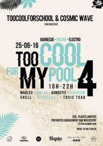 Too Cool For My Pool #4 @ Saint-Cyr-au-Mont-d'Or