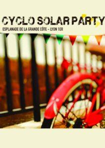 CYCLO SOLAR PARTY ! @ Esplanade de la grande cote  | Lyon | Auvergne Rhône-Alpes | France
