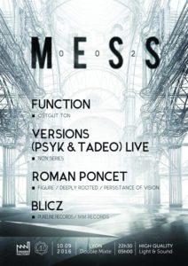 MESS 002 @ Double Mixte | Villeurbanne | Auvergne Rhône-Alpes | France