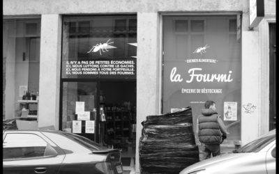 Carte sonore – La Fourmi : épicerie de destockage