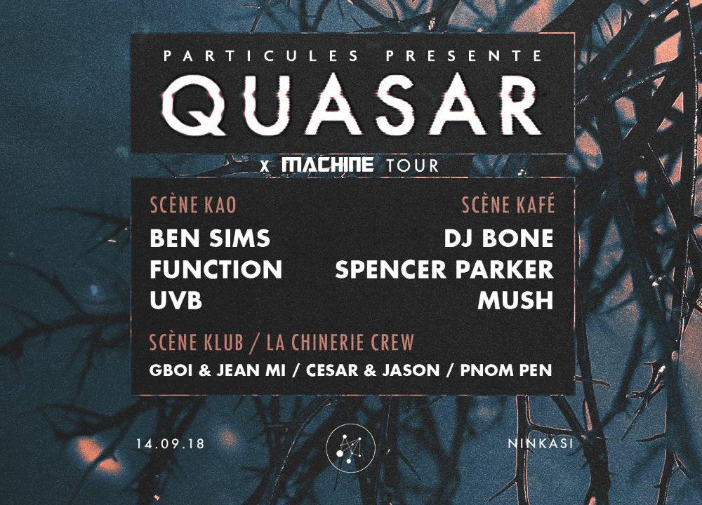 Quasar Machine Tour, c'est d'la bombe bébé